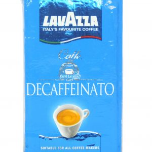 Decaffeinated coffee вакум