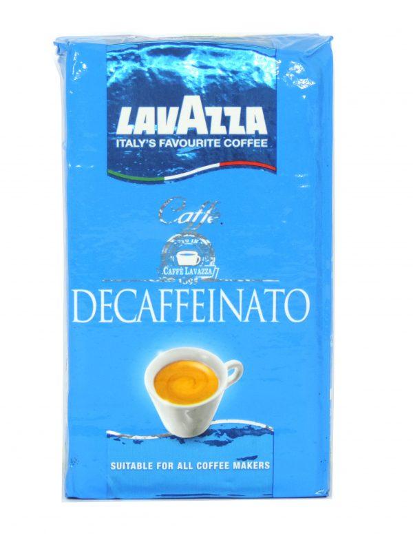 Decaffeinated coffee вакум