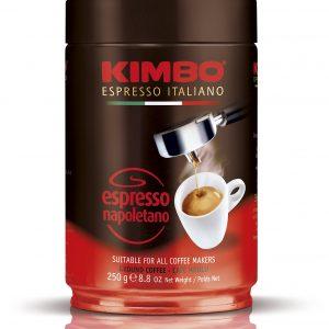 KIMBO ESPRESSO NAPOLETANO 250гр /метална кутия