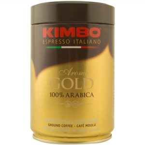 KIMBO AROMA GOLD 100% ARABICA  250гр /метална кутия
